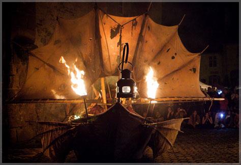 Déambulation arts du feu 'Styx'